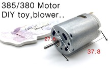 5X Good original 385/380 Motor 12V 24V DC Motor DIY toy,blower