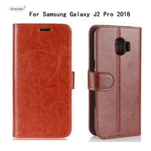 Buy HUDOSSEN Samsung Galaxy J2 Pro 2018 J250F Case Luxury Flip PU Leather Case Galaxy Grand Prime Pro Book Style Stand Cover for $5.04 in AliExpress store