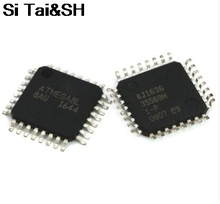 50PCS ATMEGA8L-8AU QFP ATMEL ATMEGA8L ATMEGA8-AU TQFP32 Programmable Flash free shipping(China)