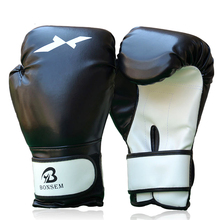 BonSem Boxing Glove Leather Punching Mitten Muay Thai Boxing Gloves Boxer Needed Accessory
