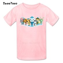 Octonauts T Shirt Baby 100% Cotton Kid Short Sleeve O Neck Infant Tshirt children's Tee Shirt 2017 Fashion T-shirt For Boy Girl