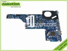 657146-001 Laptop Motherboard for HP Pavilion G6 mother boards with E450 cpu onboard Mainboard