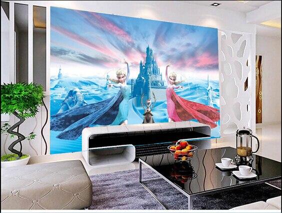 Custom children wallpaper, the princess aisha murals for paradise children room wall paper DE parede vinyl which wallpaper <br>