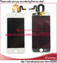 Best Quality Full LCD Screen Assembly For Apple for iPod Touch 5 5th LCD Touch Screen Display Black White(China)