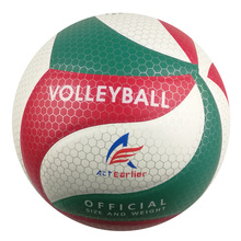 Hot sale Official Size 5 ActEarlier Volleyball PU Leather Volleyball Indoor&Outdoor Training Ball Beach Volleyball(China)