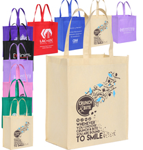 Wholesale Custom Personalized Promotional Reusable Cloth Shopping Tote Bags with Logo(China)