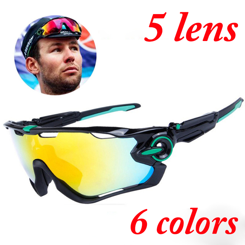 2017 Ftiier Multi lens Cycling Glasses Polarized Riding Bicycle Sunglasses Goggles Driving Eyewear Outdoor Sports Sunglasses<br>