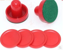 60mm ice hockey set Air ball table plastic accessries hit ball(China)