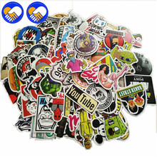 A TOY A DREAM 100Pcs Anime Stickers Notebook Scrapboking Stiker for Children Car-styling Kids Stickers Toy For Laptop Suitcase