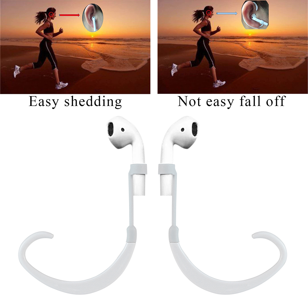 Earbud Earhook Clips AirRings Earbuds Holder for Apple AirPods iPhone 7 / iPhone 7 Plus