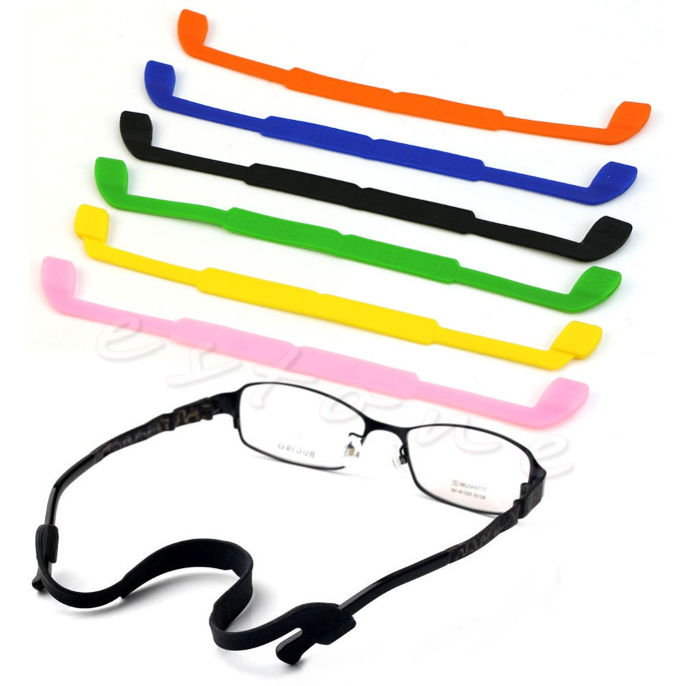 Silicone Eyeglasses Glasses Sunglasses Strap Sports Band Cord Holder For Kids(China (Mainland))