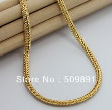 NE1535 Fashion Cool Necklaces for Men 5mm Snake Chain Jewellery 24k Gold Vacuum Plating High Quality Hot Bijouterie