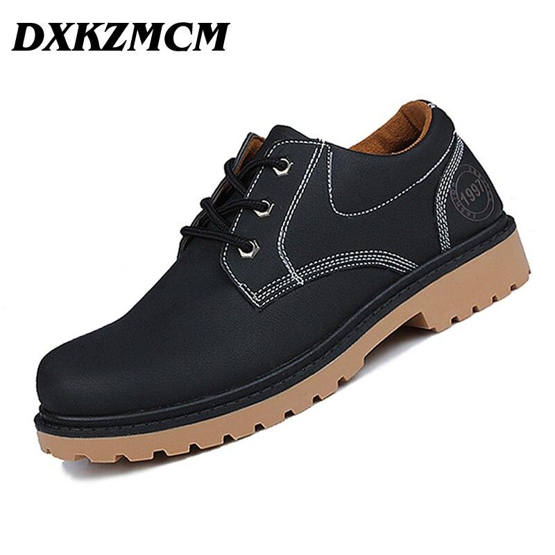 DXKZMCM 2017 Men Shoes Autumn Winter Business Men Casual Shoes Man Work shoes<br>