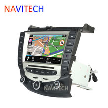 car dvd player gps navigation for honda accord 7 2003-2007 EURO car Stereo Radio dual / Single Zone Climate Control