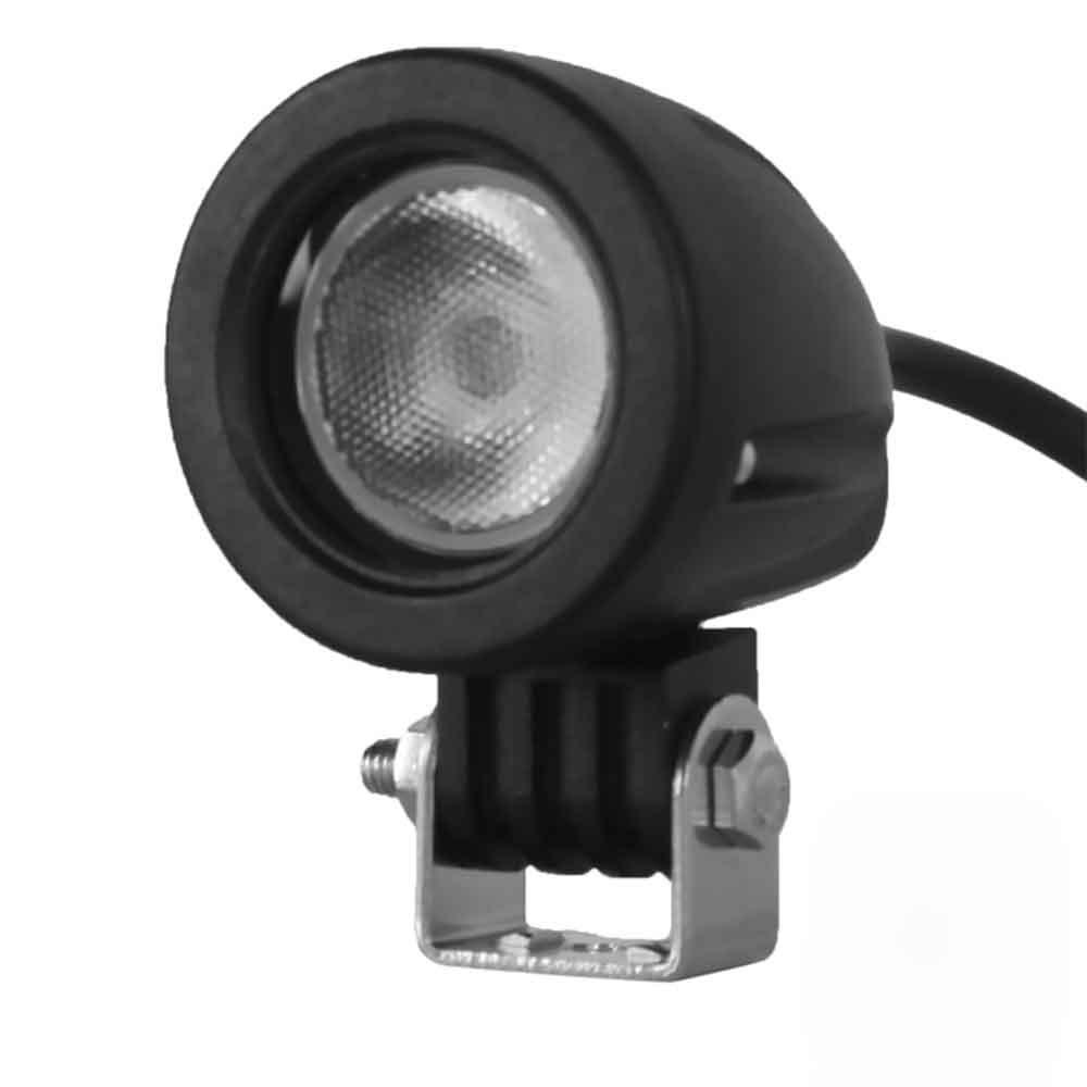 DY609 Car Floodlight Headlamp LED White Light Round Design 1000LM 6000K 10W 10 - 30V Standardized Level IP68 External Lights<br><br>Aliexpress