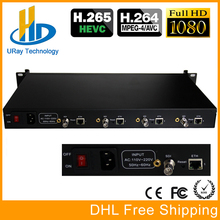 DHL Free Shipping 4 Channels H.265 HD 3G SDI To IP Stream RTSP Encoder H.264 Video IPTV SDI Live Streaming RTMP Encoder Server