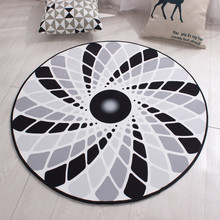 Buy Round Creative Soft Carpet Living Room European Home Warm Plush Floor Rugs Mats Room Faux Fur Area Rug Living Room Mats LST for $17.78 in AliExpress store