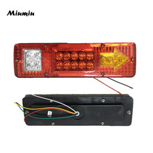 Miumiu Waterproof Car Led Rear Lights 12V Truck Trailer Caravan Van Rear Tail Stop Reverse Indicator Turn Light Lamp Hot Sale