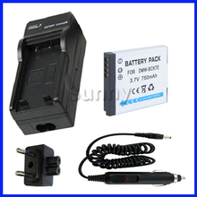 Battery+Charger Panasonic DMW-BCK7,DMW-BCK7E,DMW-BCK7PP,NCA-YN101G & Lumix DMC-FP5,DMC-FP7,DMC-FX78,DMC-FX90 Digital Camera - Sunny-Room store