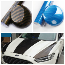 Car body cool Stickers 3D Bright Carbon Fiber Decals Vinyl Wrap Motorcycle protector volkswagen VW golf 4/5/6/Opel Astra - Shop1953598 Store store