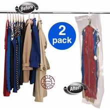 2 packs with free shipping | 90x60, 110x60, 105x70, 145x70 |  Vacuum bag with hanger | hanging storage bag | space saving bag