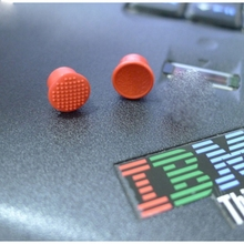 2 Pcs Laptop TrackPoint Soft Dome Cap + Soft Rim Rem Track Pointer Red Ball Mouse Caps For Lenovo ThinkPad IBM Keyboard 73P2697