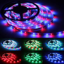 JMT 16.5 ft/5 m - 300 LEDs + 24 control keys - w/ power supply - w/ fitted LED Light Strips With 24 skeys(China)