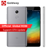 "Original Xiaomi Redmi Note 4X 4 X Mobile Phone 3GB RAM 16GB ROM Snapdragon 625 Octa Core Fingerprint ID 5.5"" FHD 13.0MP Camera(Hong Kong)"