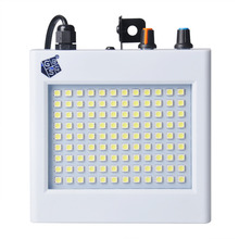TSSS 20W LED Strobe Lights White Mini Party Flash Lighting Speed Adjustable with 108 LEDS for Halloween Club Banquet(China)