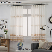 Hemp Material Embroidered Wire Netting Small Children Room Balcony Pervious To Light Embroidery Screens E(China)