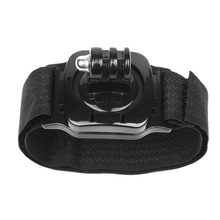 Buy FGHGF 360 Degree Rotation Hand Wrist Strap Mount Gopro Hero 5 3 4 Session Xiaomi Yi 4K SJCAM Eken Action Camera Accessories for $1.82 in AliExpress store