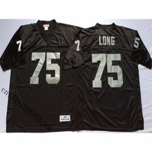 Mens Retro 1987 Howie Long Gestikt Naam & Nummer Throwback Voetbalshirts Maat M-3XL(China)