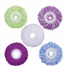 1 Piece Microfiber Mop Head Replacement Magic Mop 360 Degree Spin Rotating Mop Head House Floor Cleaning Tools Hot Sale