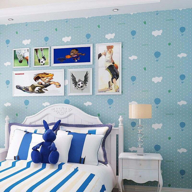beibehang balloon boys and girls childrens room papel de parede 3d Wallpaper for walls 3d room wallpaper roll murals wall paper<br>
