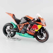 1 12 scale mini RED BULL Factory KTM RC8 R 1190 NO.45 MARTIN BAUER SUPER BIKE Motorcycle Diecast Model cars Motocross 2011 toys