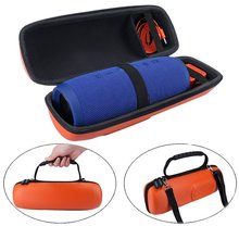 New EVA Hard Case Travel Carrying Storage Cover Bag Case For JBL Charge 3 Charge3 Pulse 2-Extra Space for Plug&Cables(With Belt)(China)