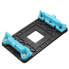 High Quality CPU Heatsink Retention Module Bracket Backplate Black Motherboard Base Cooling Fan Holder For AM2/AM3/AM3+/FM1/FM2(China)