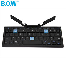 B.O.W HB199 Bluetooth Wireless Keyboard Teclado For ipad Teblet for Laptop Computer for Smartphone Bluetooth Keyboard