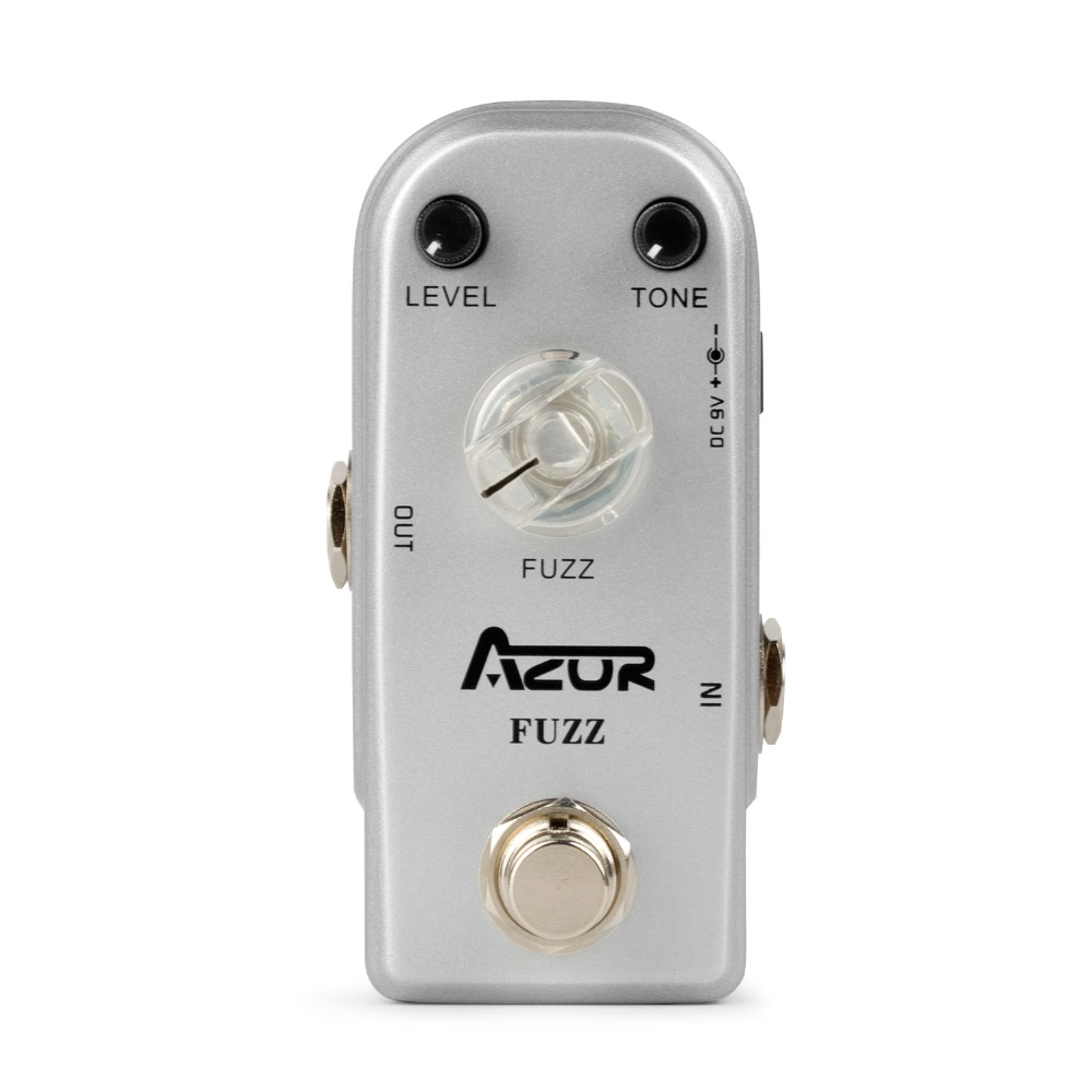 AP-303 Fuzz Mini Guitar Effect Pedal with Aluminum Alloy True Bypass<br>