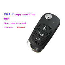 Auto remote control retrofit 3 button 081 model remote control for NO.2 copy machine Customized frequency 433MHZ Free Shipping