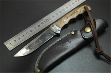 Browning Shadow Wood Hunting Knife Camping Tool Survival Fixed Blade Knife Outdoor Rescue Knives