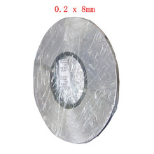 1kg 0.2 x 8mm Nickel Plated Steel Strap Strip Sheets for Battery Spot Welding Machine Welder Equipment