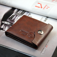 20pcs/lot Free shipping new  Men wallet+genuine Leather wallet brand+Pockets Clutch Cente Bifold Purse with coin pocket WMB150