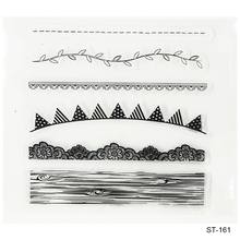 Beautiful Scenery  Design Silicone Transparent Stamp Clear Stamps Set for DIY Scrapbooking Photo Album Decoration Supplies