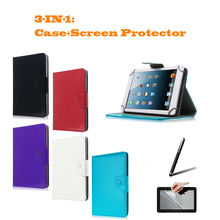 "For Ainol Novo 9 Spark/Spark II/Spark 2 9.7"" Inch Universal Tablet PU Leather cover case Free Gift(China)"