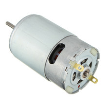 DC Motor 12V 30000 RPM for Children Electric Car,RC Ride, Baby Car Electric Motor RS550 Gearbox 10 teeth Engine New Arrival(China)