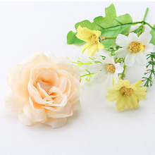 New Arrival  Peony Flower Hairpins Bohemia Flora Hair Accessories For Girls Sweet Headwear Wedding Barrette Girls Hair Clip