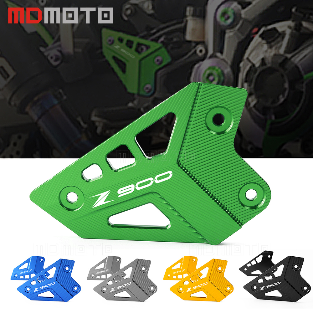For Kawasaki Z900 2017 Motorcycle Accessories Foot Peg Heel Protection Protective Film Mount Heel Guard Protector CNC Aluminum<br>