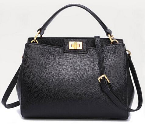 2017 Fashion new Women Leather Handbags Litchi cat ladies messenger bag crossbody bag Brand designer tote bag bolsos mujer de<br><br>Aliexpress