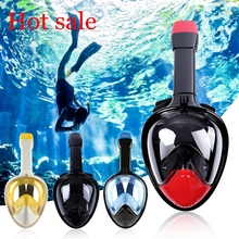 NEOpine snorkeling mask diving mask underwater Scuba AntiFog 180 degree wide view Full Face Diving Mask Snorkel Set Snorkel mask
